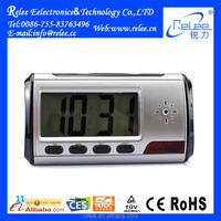 Wireless Remote Control Table Hidden Digital Clock Camera with Motion Detection