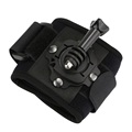 SHOOT New 360 Degree Rotation Wrist Mount with Screw for Gopro Hero 6 5 4s 4 3 2 1