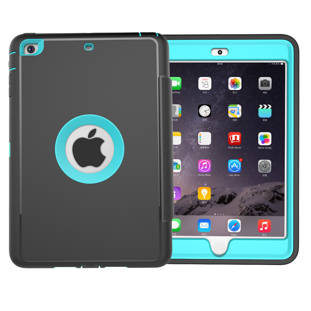 Factory Price Drop Resistance Tablet TPU PU Leather Case For iPad Mini 1/2/3