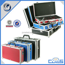MLDGJ911 New colorful empty alumium heavy duty suitcase tool case