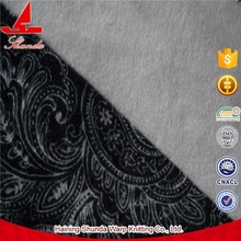 ISO 9001 Factory Custom Fancy Cheap Polyester Satin Velour Curtain Fabric