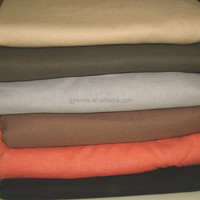 2016 Popular Color Linen Wholesale Fabric For Dress And Clothing