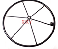 Outside diameter 700 mm solid spokes for handwheel,Mechanical hand wheel suppliers