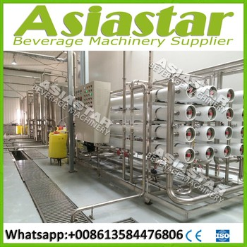 High speed automatic water treatment plant for drinking water
