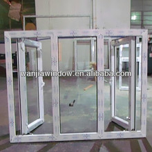 60mm conch brand section casement upvc windows