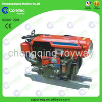 China Trustworthy Manufacturer Air Cooled Recoil/Electric Start V-twin Cylinder 4 Stroke 186FE Diesel Engine For Sale