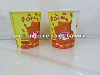 8oz food grade food packaging disposable coffee paper cup beverage container