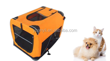 Large travel kennel portable crate soft dog big portable folding dog cage