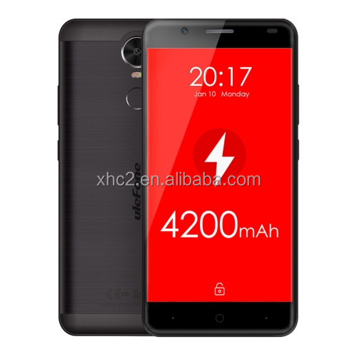 2017 new products 4200mAh Fingerprint 5.5 inch Android 6.0 OS MT6737 Quad Core 1.3GH Ulefone Tiger 4G smartphone