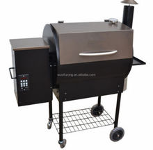 Powder Coated Outdoor Wood Pellet Smoker and Pizza Oven