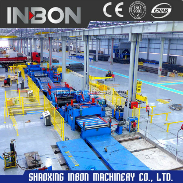 Good quality high speed Galvanized steel <strong>Cutting</strong> and slitting machine