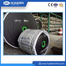 Import industrial ep fabric rubber conveyor belt with impact resistance