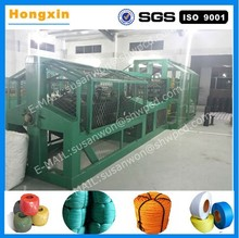 Factory supply large output nylon superplastic stranding coir rope machine