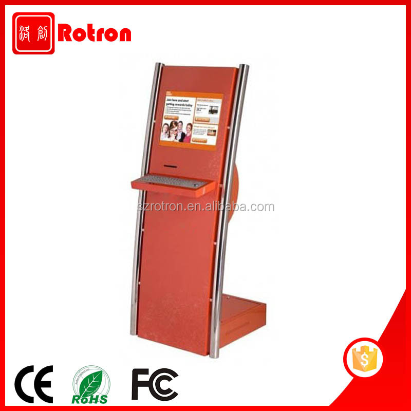 Unique Design Information Checking Intelligent Touch Kiosk Machine