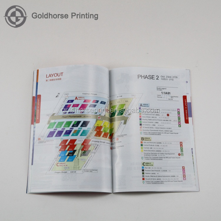 Canton Fair Custom Widely Used User Guides For Products Promotion/Custom Printed instruction book manuals