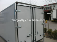 china refrigerater truck . grp box truck body