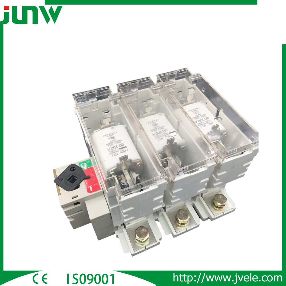 CE 3 pole and 4 Pole load disconnect isolator switch