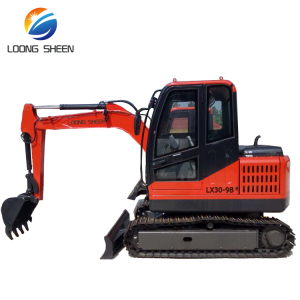 Loongsheen 3.5t Small Cheap Mini Excavator of Digger