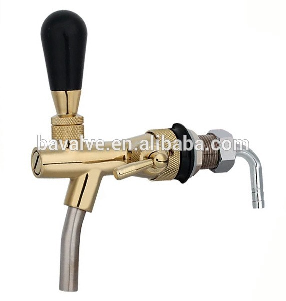 CE approved chrome Draft Brass beer faucet