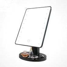Double Side Led Light 3 magnifying Vanity hollywood Makeup Mirror with 6/7/8 Inch