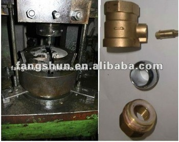 Press Forging Brass Nut Fitting Used Wrought Machine