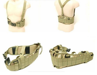 Patrol Molle Belt 1000D High Density Nylon Padded Combat Waist Belts Airsoft Tactical Hunting Shooting Military Outdoor Gear