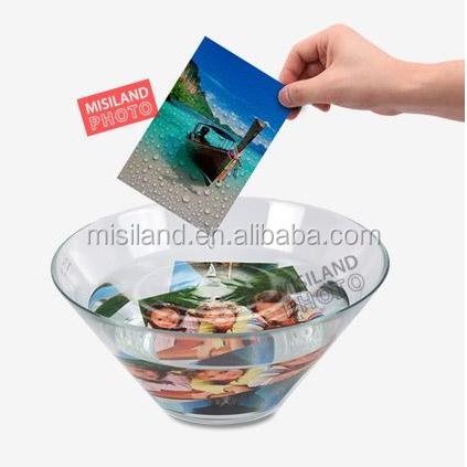 Waterproof White 250gsm Wide Format Cast Coating Glossy Photograph Paper