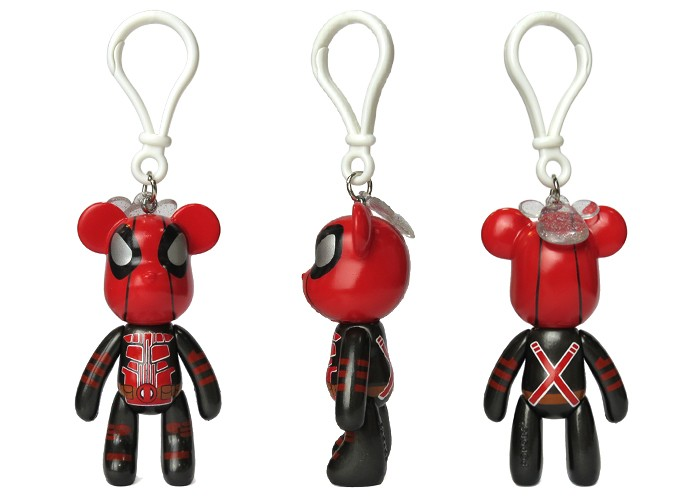 New Product Plastic Key Chain High Quanlity Material Key Ring Movie Character Toy For Promotion