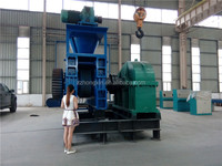 China supply high output charcoal biomass sawdust briquette charcoal making machine