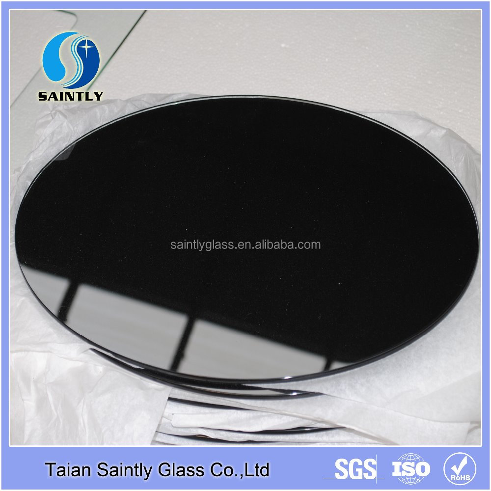 black round glass pieces (for cooker hood, electric fireplace or other home appliance)