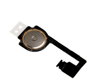 100pcs/lot High quality cheap price Home menu Button Flex cable replacement key display assembly for iphone 4s