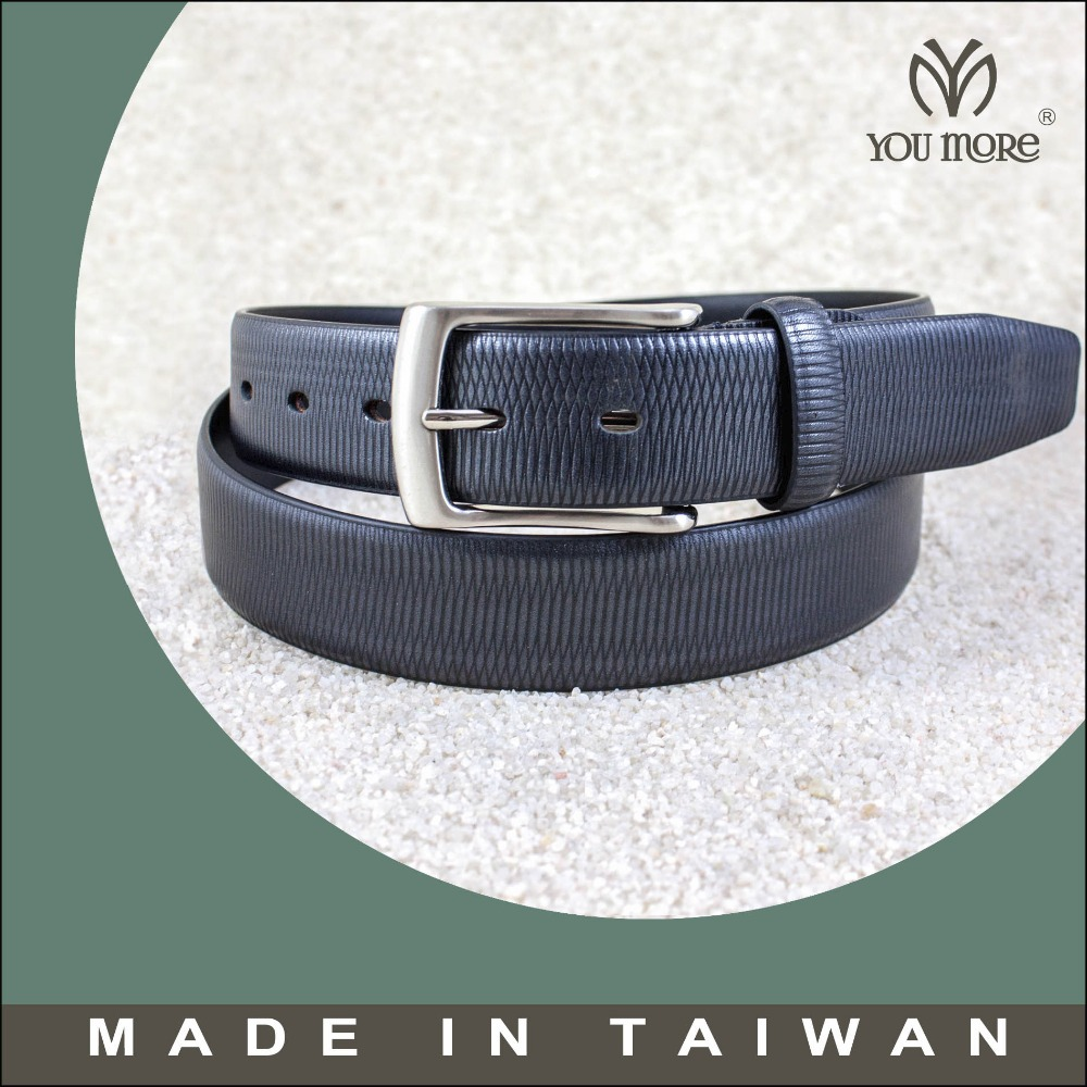 Design men stylish scale unique leather belts with fish