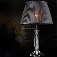New selling custom design antique crystal table lamp with reasonable price