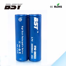 CE.ROHS Factory directly sell imr 18650 3000mah 3.7v Lithium ion the battery 18650 segway battery
