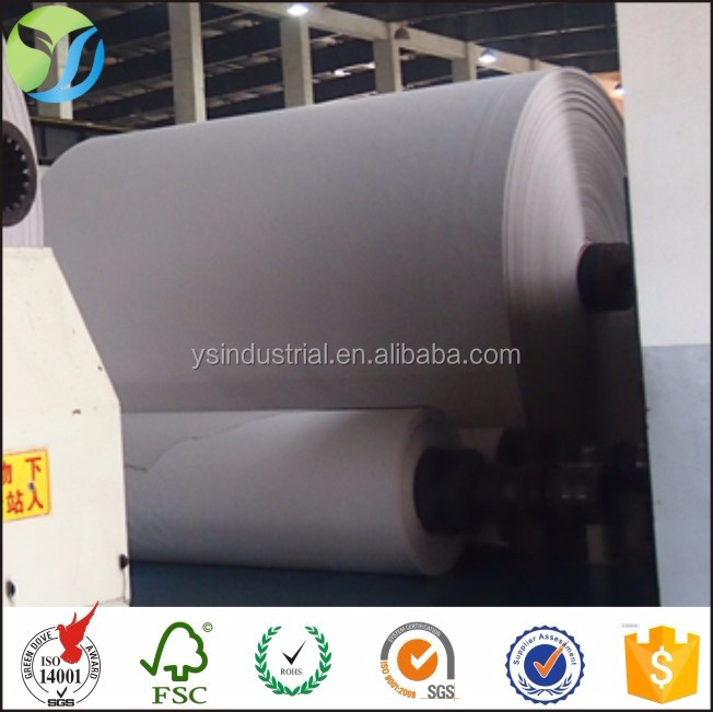 300g duplex board paper with white/grey back paper carton board for making boxes duplex board with grey back