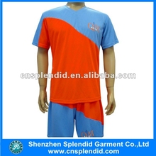 Bulk wholesale cheap sports clothing striped jerseys soccer