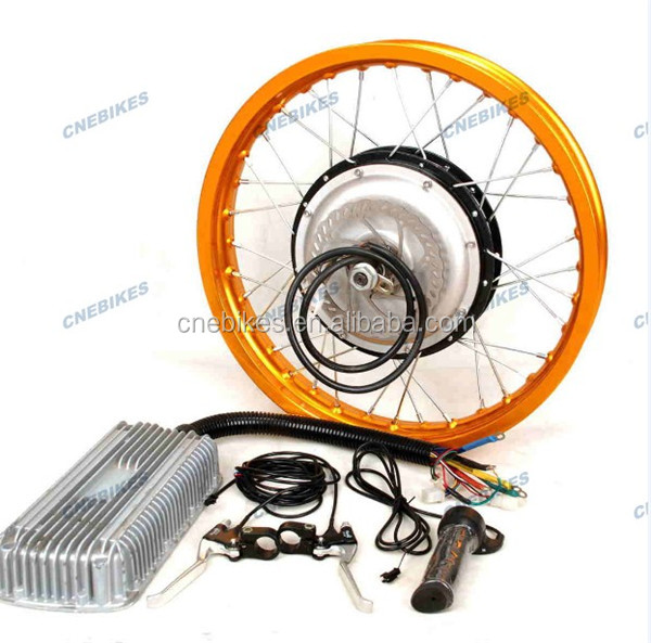 Big power Hub motor 3000w electric bike conversion kit