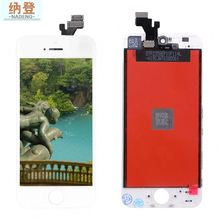 "mobile phone replacement AAA quality lcd with digitizer for iPhone 5"" screen display"