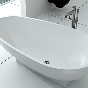 New design solid surface tin bath tub BS-8616