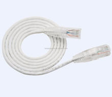 New Design Special Ultra Slim UTP RJ45 Cat.6 Patch Cable OD:3.5mm Clear Boot