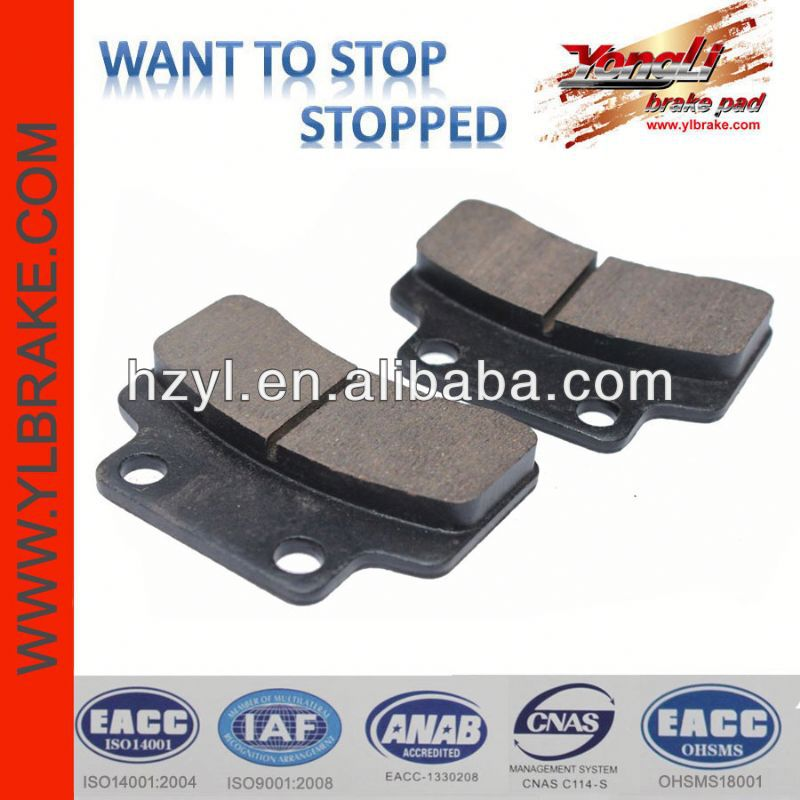China performance non-asbestos brake pads production line