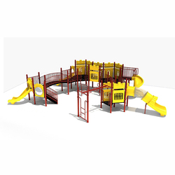 Large outdoor playground equipment sale, luxury large play equipment
