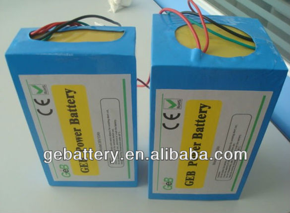 36v 20ah lithium ion battery pack/Customized battery pack/36V Lithium battery pack