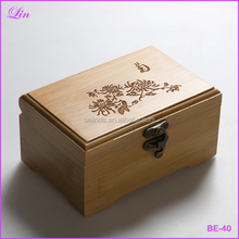 vintage wooden Storage Box classic and elegant jewelry box sundries makeup organizer