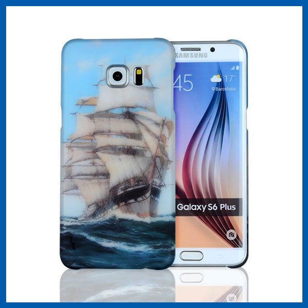 C&T Attractive Design cell phone hard back case cover for samsung galaxy s6 edge plus
