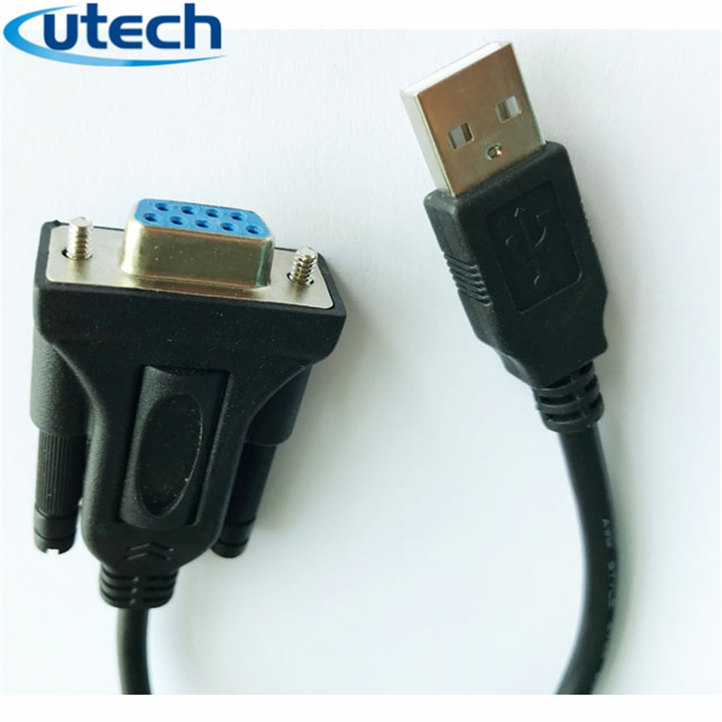 2020 Product USB 2.0 to RS232 DB9 Female Serial Adapter <strong>Cable</strong> Supports Win dows <strong>10</strong>, 8, 7, Mac, Linux