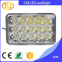 high quality waterproof IP67 led work light 45w for car