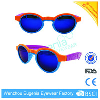 muti-color frame color new style polarized kids sunglasses