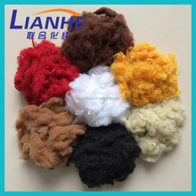 synthetic polyester fiber waste