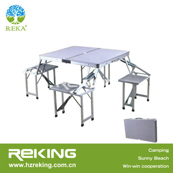 Aluminium Folding Table and Chair sets